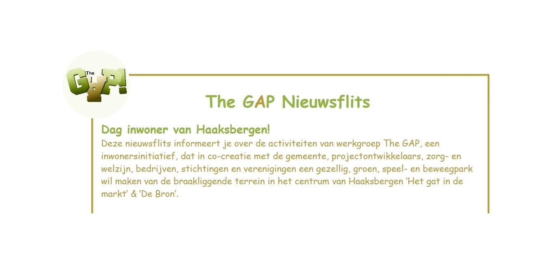The Gap nieuwsflits